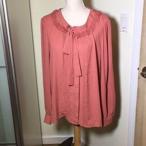 Lauren Conrad Salmon shirt size XXL